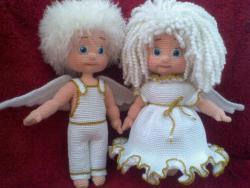 Ангелочки Гавриил и Лукерья