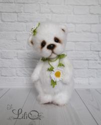 цветочная мишка Ромашка