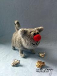 Толстый Серый Кот