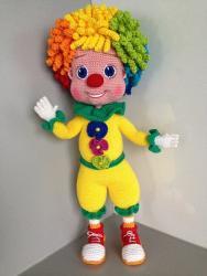 клоун Семицветик ,по описанию Анны Садовской