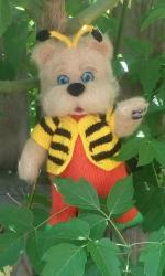 мишка-пчелка