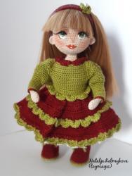 Варенька весенняя кукла, сладкая как вареная сгущенка