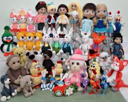 Коллекция игрушек 2017год