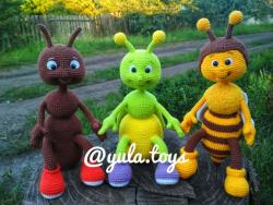 Муравьишка, Светлячок и Пчелёнок