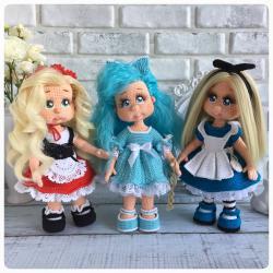 Алиса,Мальвина и Красная шапочка