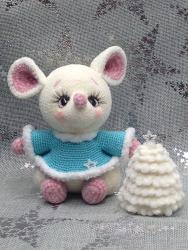 Влюблённые мышки , мк Анны Садовской.
