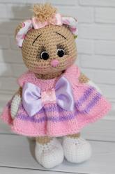 КОшечка Анфиса в весеннем платьице