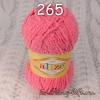 "Пряжа плюш Alize ""Softy"" цвет номер 265"