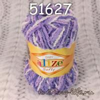 "Пряжа плюш Alize ""Softy"" цвет номер 51627"