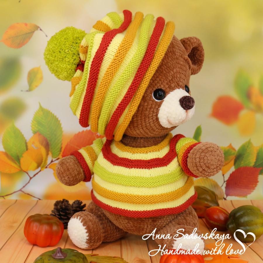 Осенний медвежонок