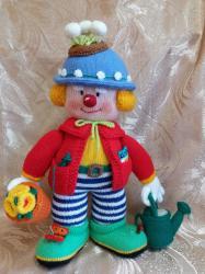 Красноносый клоун Садовник