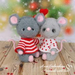 Влюблённые мышки