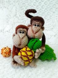 Мартышки с Ананасом