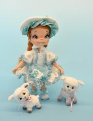 Лика - девочка пастушка