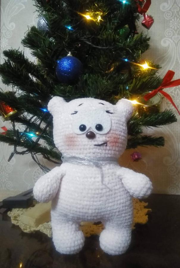 Мишка-пряник,  МК Ани Садовской.