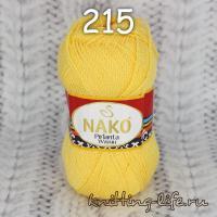 Пряжа NAKO Pirlanta Wayuu цвет номер 215 лимонный