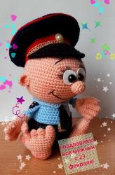Маленький защитник полицейский, пр МК Елены Беловой+моя фантазия
