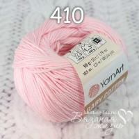 Пряжа YarnArt Baby Cotton цвет номер 410