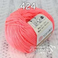 Пряжа YarnArt Baby Cotton цвет номер 424