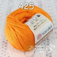 Пряжа YarnArt Baby Cotton цвет номер 425