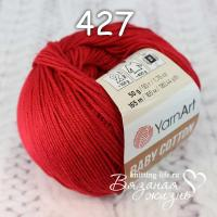 Пряжа YarnArt Baby Cotton цвет номер 427