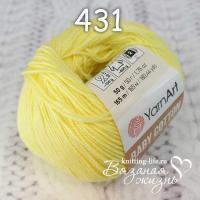 Пряжа YarnArt Baby Cotton цвет номер 431