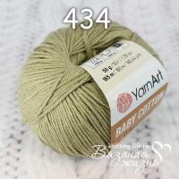 Пряжа YarnArt Baby Cotton цвет номер 434